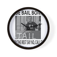 Sloe Bail Bonds Wall Clock
