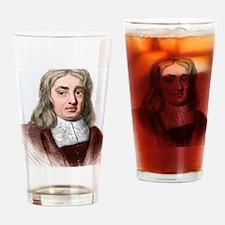 Thomas Sydenham, English physician Drinking Glass