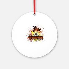 HD Island Round Ornament