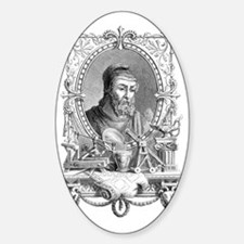 Archimedes, Greek mathematician Decal