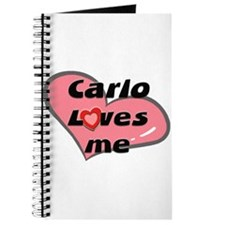carlo loves me Journal