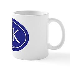 10K Running Achievement Blue Mug