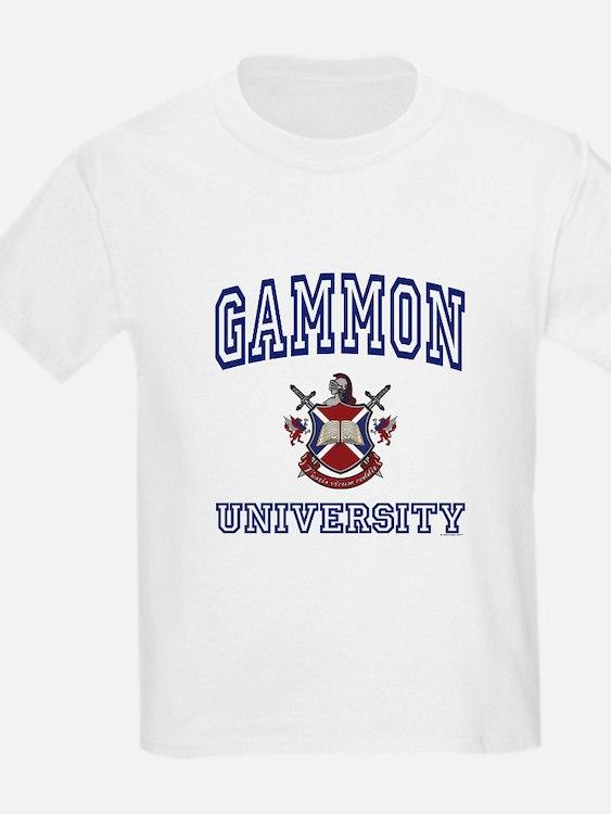 GAMMON University Kids T-Shirt