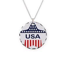 USA Star Necklace