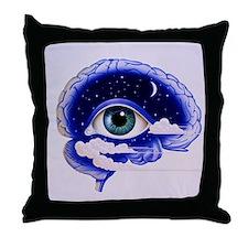 Artwork of insomnia Throw Pillow