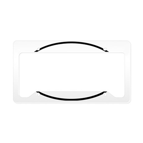 againstwaroval License Plate Holder