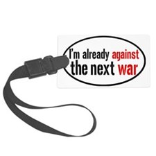 againstwaroval Luggage Tag
