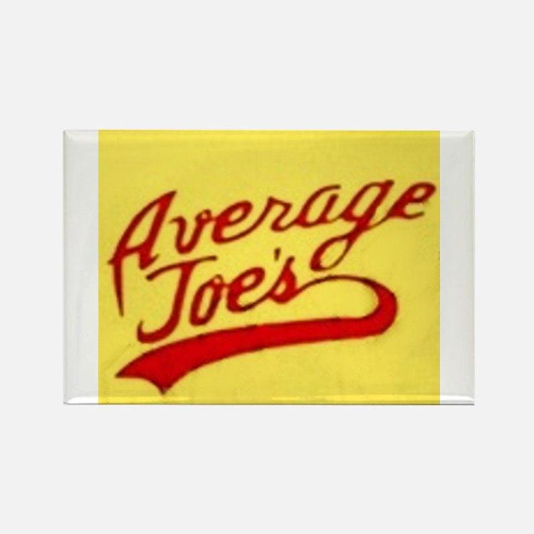 Cute Average joes Rectangle Magnet
