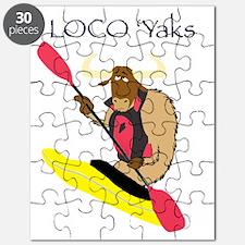 Loco Yaks Logo Puzzle