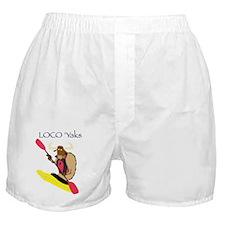 Loco Yaks Logo Boxer Shorts