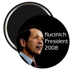 Black Kucinich for President Magnet
