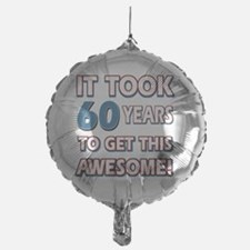 60 year old birthday designs Balloon