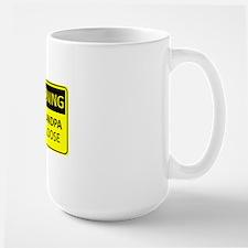Warning: New Grandpa on the Loose Mug