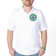 EAGLE FEATHER MEDALLION T-Shirt