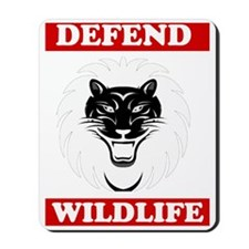 Defend Wildlife Mousepad