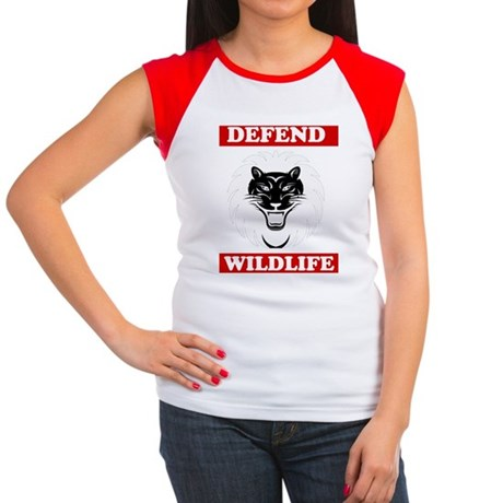 Defend Wildlife Women's Cap Sleeve T-Shirt