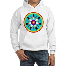EAGLE FEATHER MEDALLION Hoodie