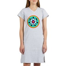 EAGLE FEATHER MEDALLION Women's Nightshirt