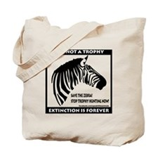 SAVE THE ZEBRA! Tote Bag
