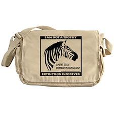 SAVE THE ZEBRA! Messenger Bag