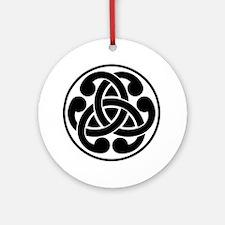 Celtic Torque Round Ornament