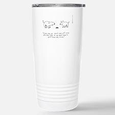 BAR CODE DOG Travel Mug