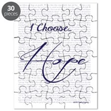 Choose hope (card Puzzle