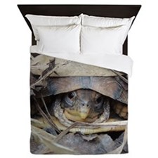 Camo Turtle Queen Duvet