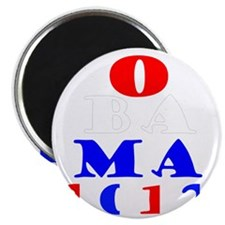 Obama2012Drk Magnet