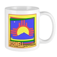 Roswell NM Flag Art Mug