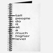 Funny Tall people Journal