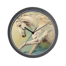 Free Style painting by Janet Ferraro Wall Clock