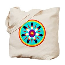 EAGLE FEATHER MEDALLION Tote Bag