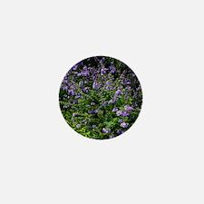 Southern Lilac Garden Mini Button