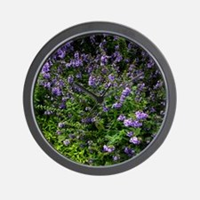 Southern Lilac Garden Wall Clock