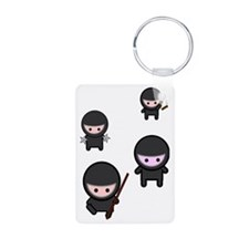 Ninja Time Keychains