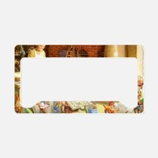 Christmas_Mrs. Claus 1 License Plate Holder