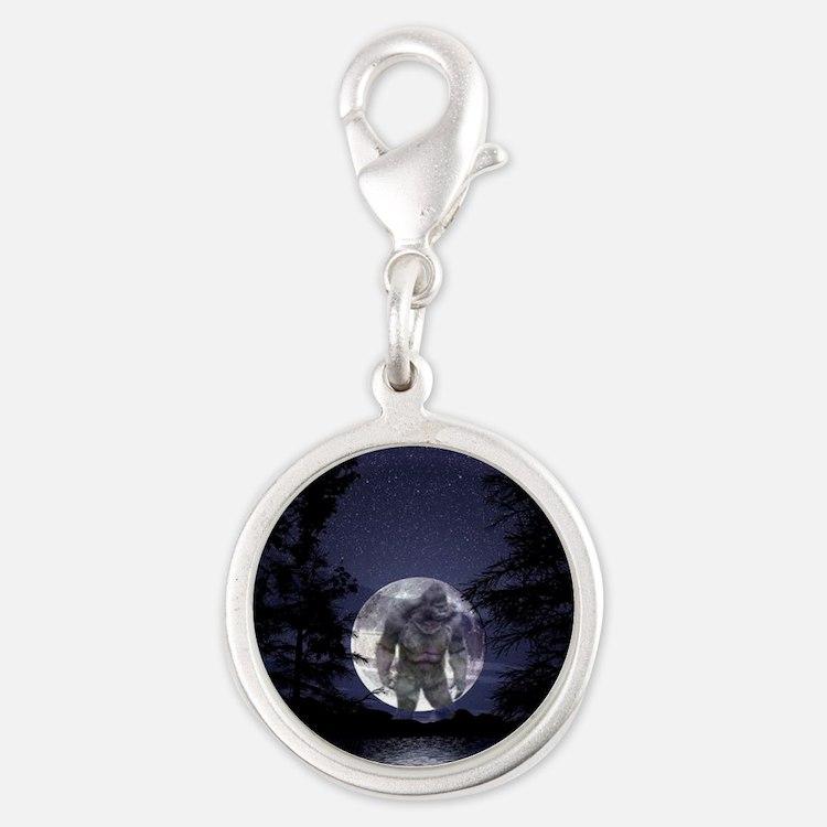glbfrlarge2 Silver Round Charm