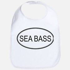 Oval Design: SEA BASS Bib