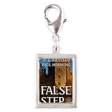 False Step Silver Portrait Charm