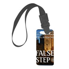 False Step Luggage Tag