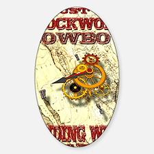 Clockwork Cowboy - Winding West Decal