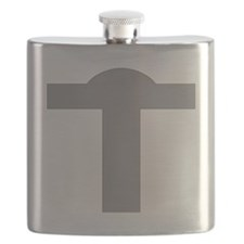 Silver Cross Flask