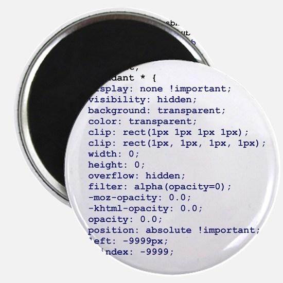 CSS Redundant Class Magnet