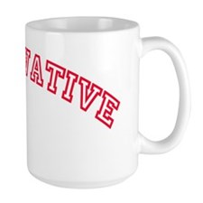 Conservative (Red) logo Mug