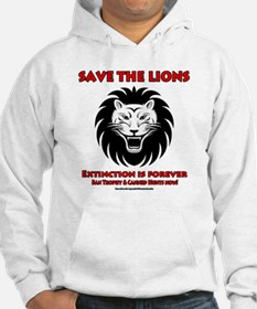SAVE THE LIONS! Hoodie