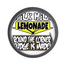 Milk Milk Lemonade Round the Corner Fud Wall Clock