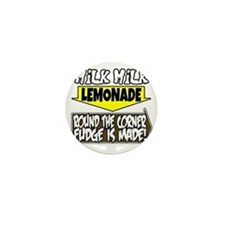 Milk Milk Lemonade Round the Corner Fu Mini Button