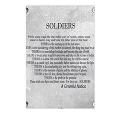 Soldiers Postcards (Package of 8)