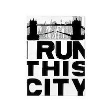 I run this city 5'x7'Area Rug